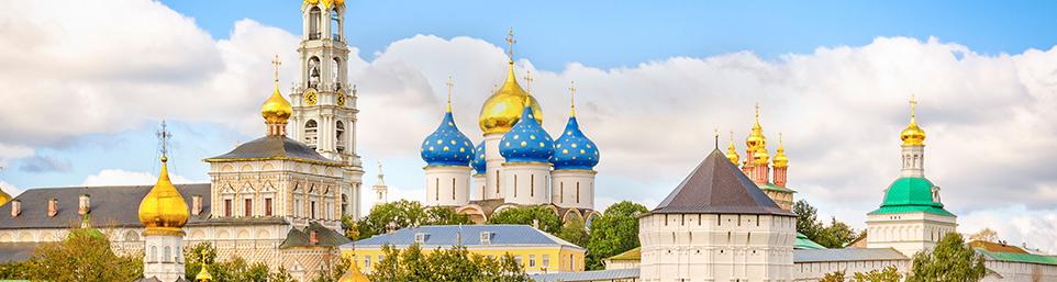 Sergijev Posad – nejposvátnější město Ruska