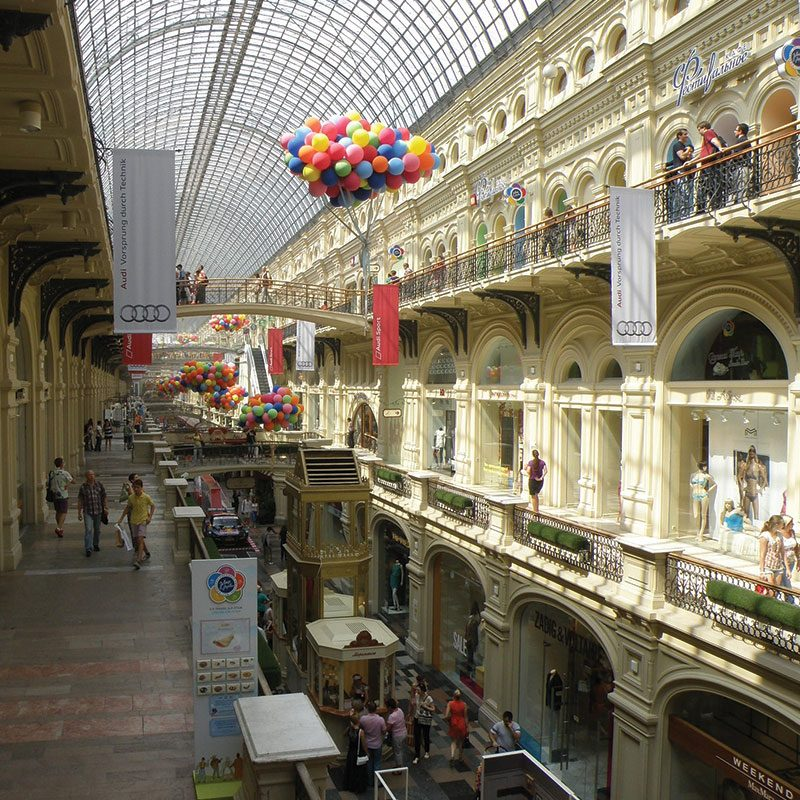 obchodní centrum GUM